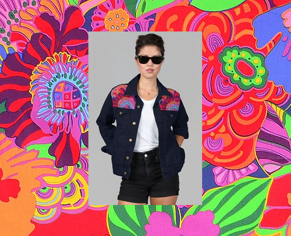 oaxacanette denim jacket